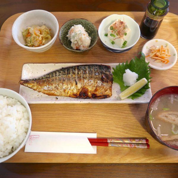 塩サバ焼き定食(850円)