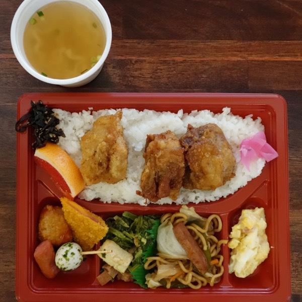 唐揚げ弁当(430円)