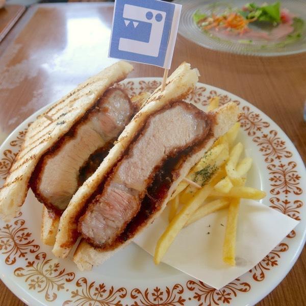 三元豚のカツサンド(1,180円)