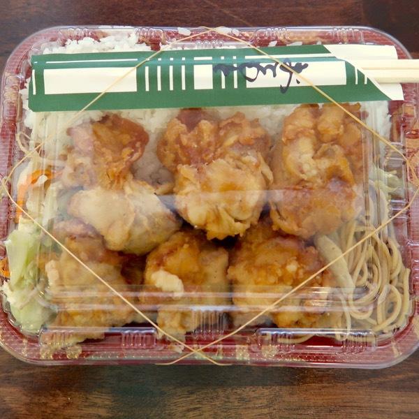 唐揚げ弁当(400円)