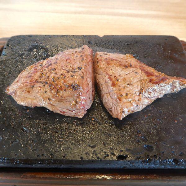 替え肉・上ミスジステーキ(650円)