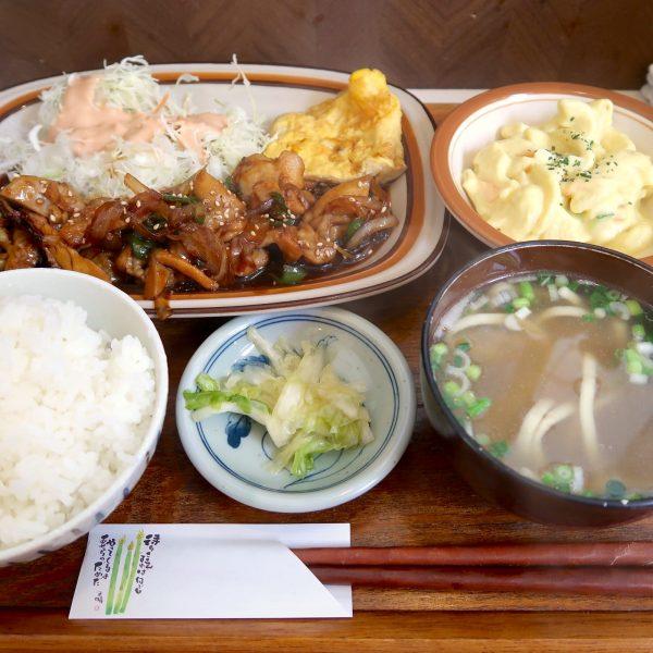 チキン照焼き定食(650円)