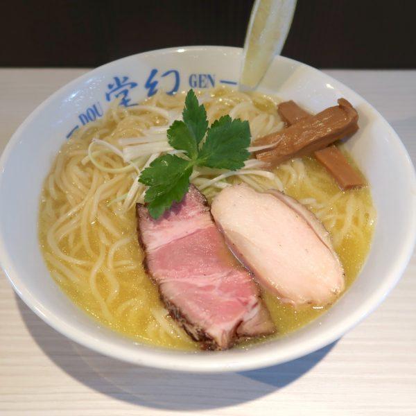 濃厚鶏そば大盛り(900円)