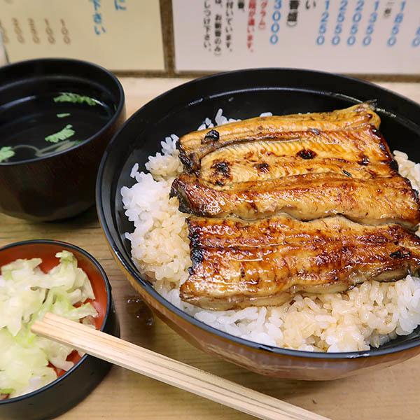 うな丼ダブル(1,850円)