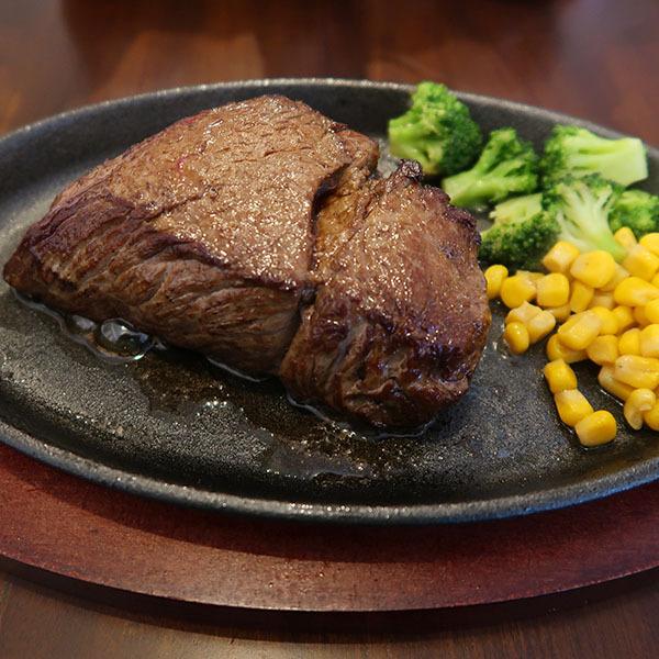 赤身のステーキ 300g(1,500円)