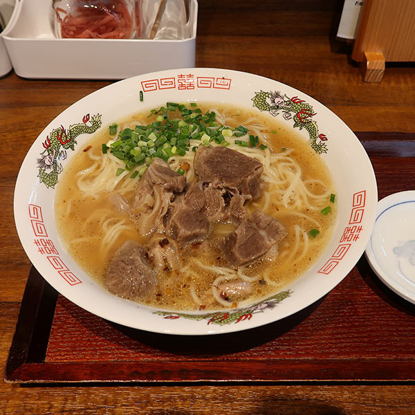 山羊ラーメン(750円)+大盛(50円)