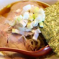 煮干し出汁が美味しいラーメン「いわし」