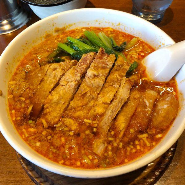 排骨担担麺(980円)
