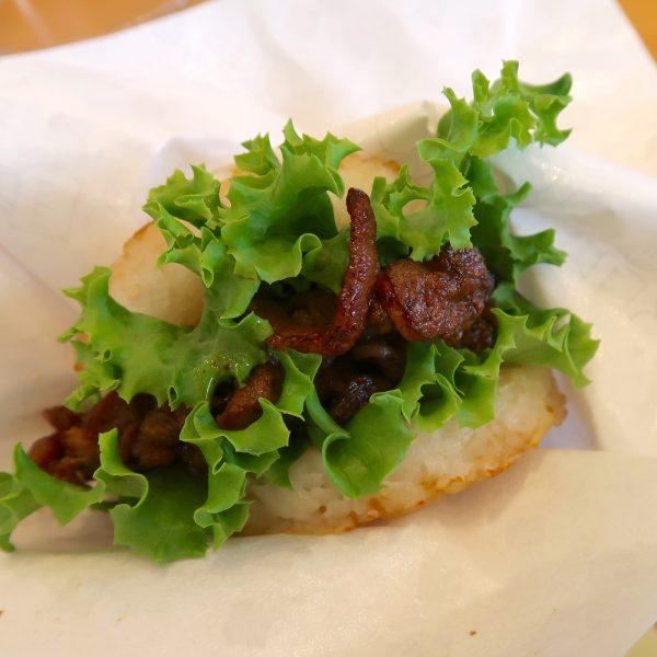 モスライスバーガー焼肉(390円)