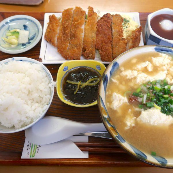 ななほし食堂 ゆし豆腐定食(600円)