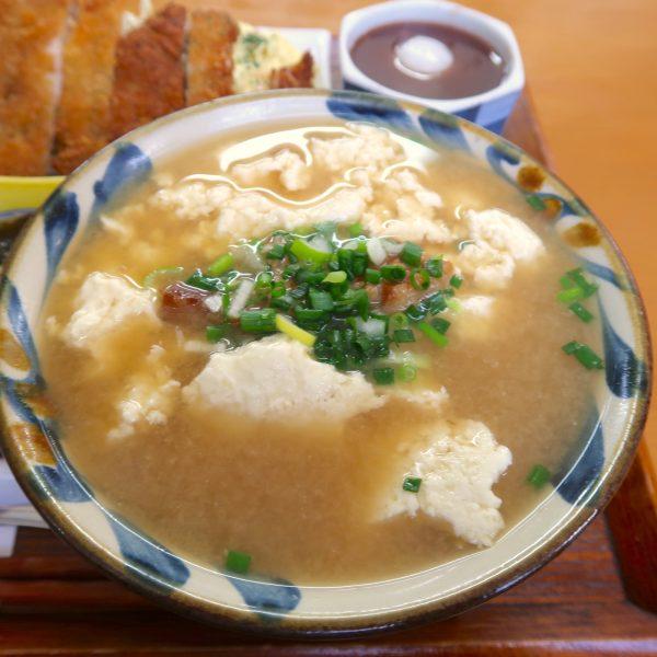 ゆし豆腐 味噌味
