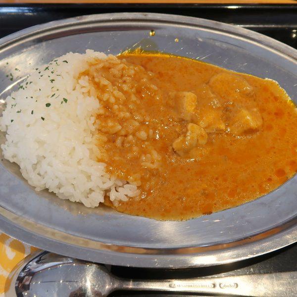 バターチキンカレー(380円)