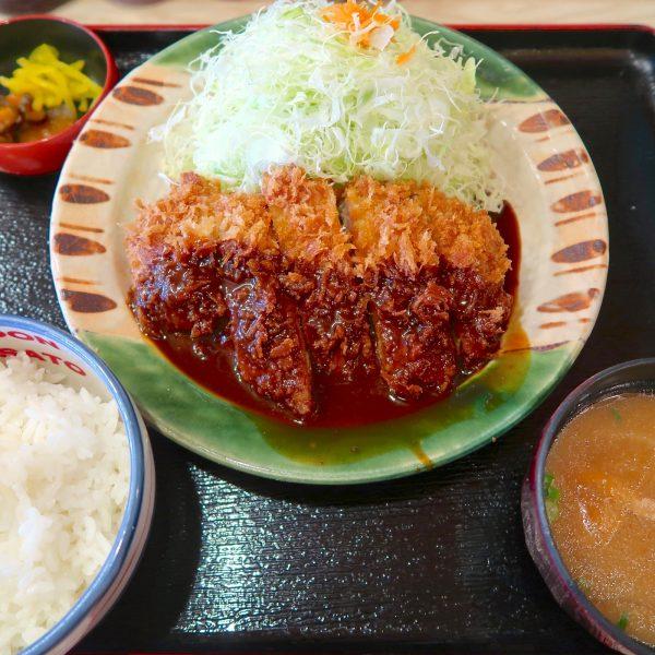 かつさと ジャンボ味噌かつ定食(790円)