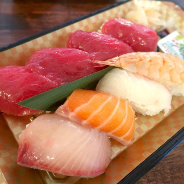 国産養殖マグロのお寿司