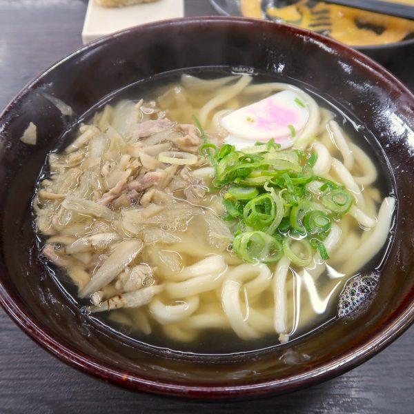 かしわ汁うどん(580円)