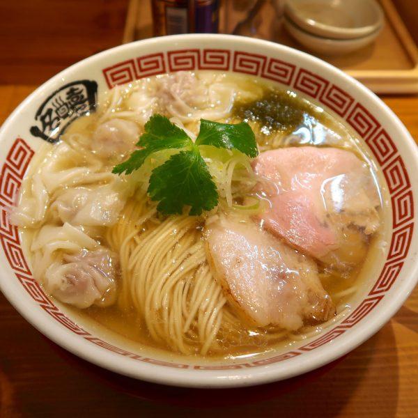 ワンタンメン・塩(880円)