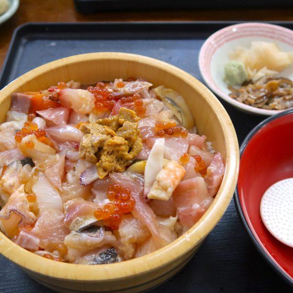海鮮ひつまぶし(1,000円)