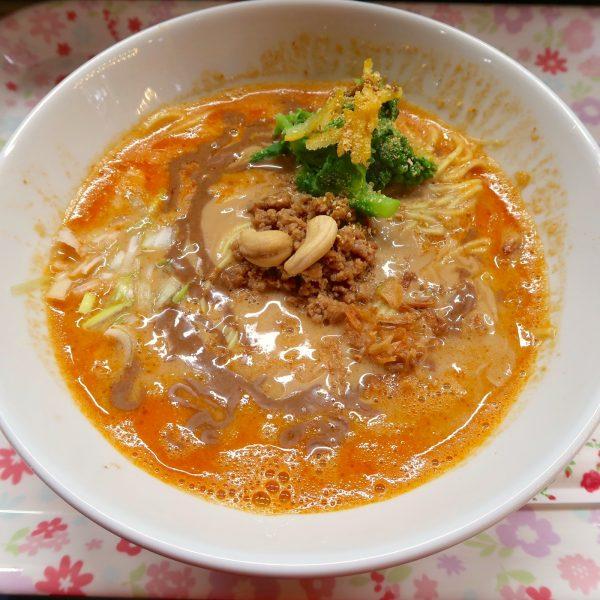 濃厚烈火担々麺(850円)