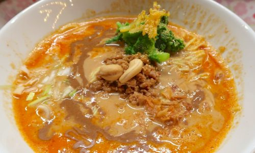 農連市場 オレンジ食堂 担々麺