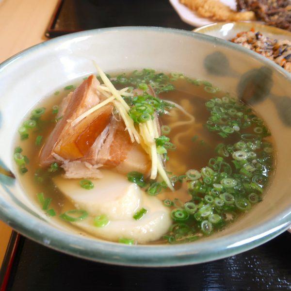 三枚肉そば・並(500円)