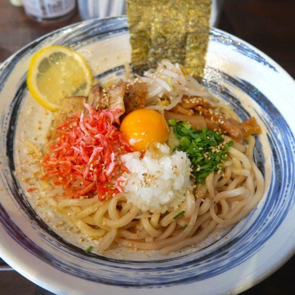 海老塩れもんまぜ麺(780円)