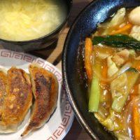 あけぼのラーメン 中華丼&餃子