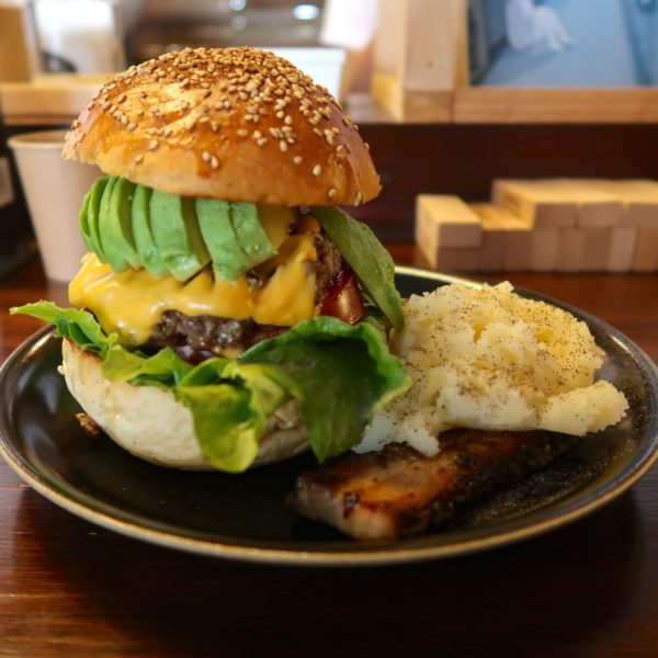Avocado & Cheese Burger
