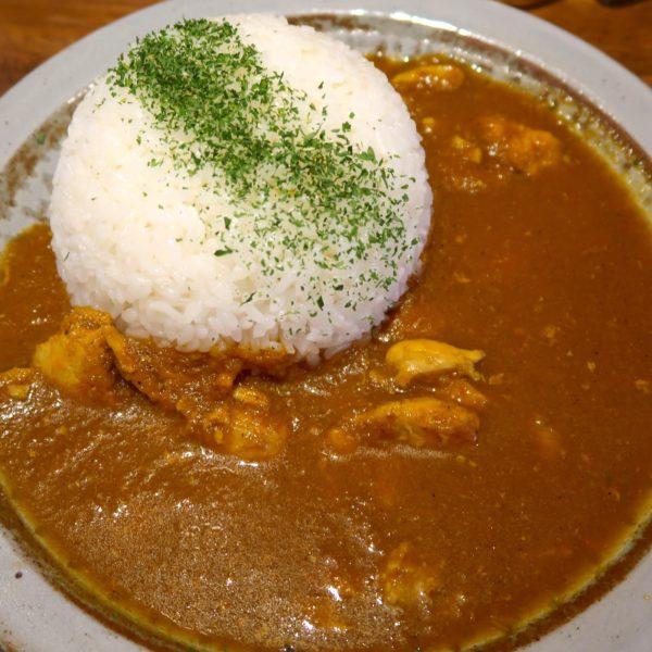 特製チキンカレー(850円)