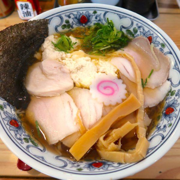 宇那志ゆし豆腐そば(780円)