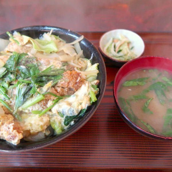 カツ丼(650円)