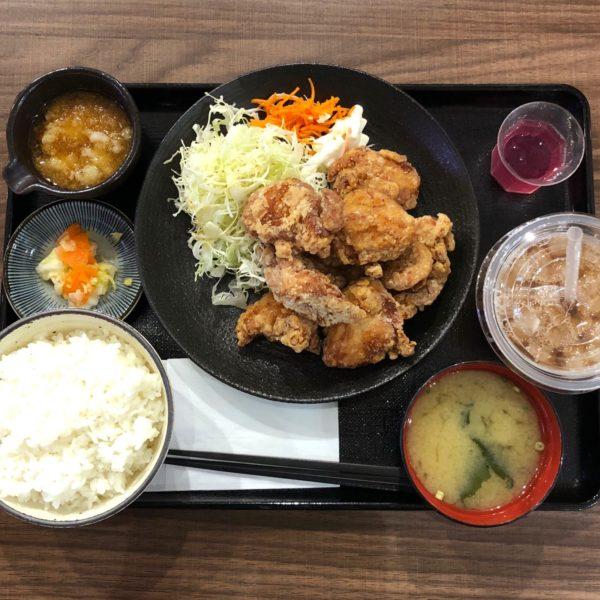 とりポン酢定食・大盛(890円)
