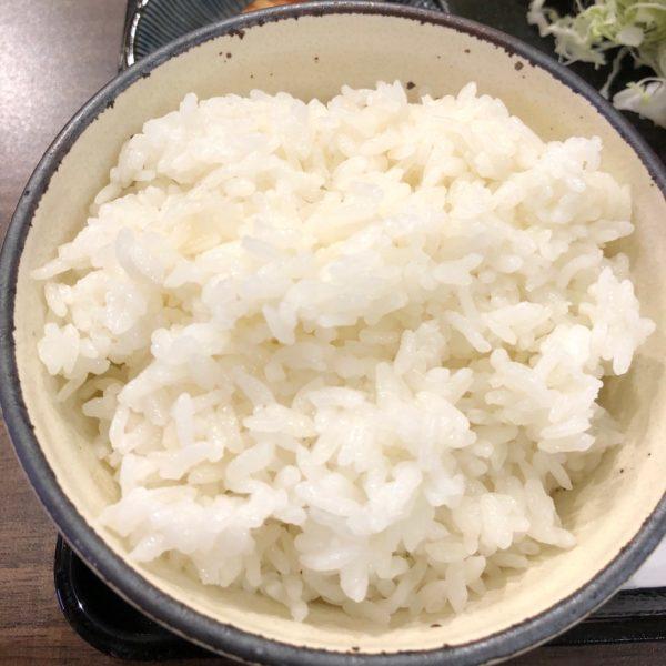 白飯大盛り