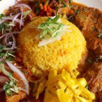 ヤマナカリー 豚肉&鶏肉の二盛りカレー
