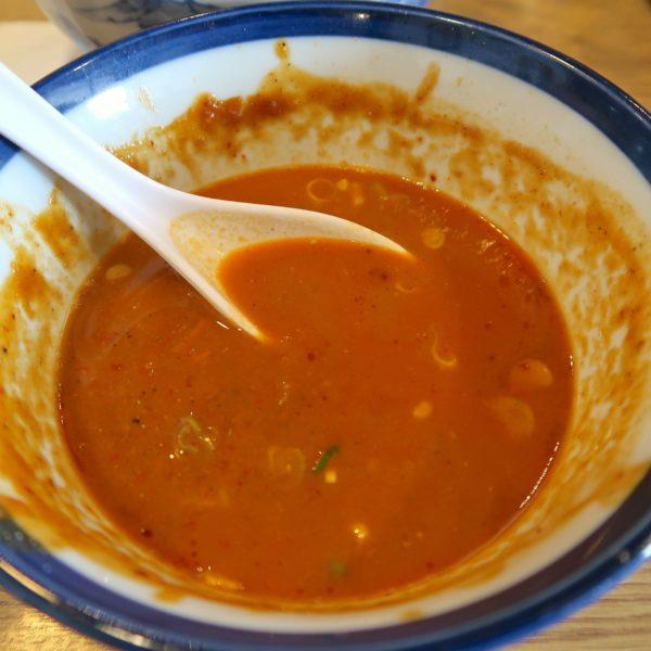 スープ割りでホワジャオを楽しむ