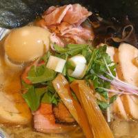 那覇・前島「麺や堂幻」背脂肉煮干し中華そば