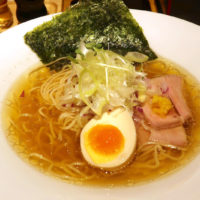 沖縄市 麺家 しゅんたく 塩ラーメン 鶏清湯