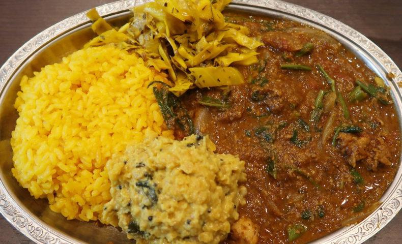 ゴカルナ 夏野菜とチキンのカレー