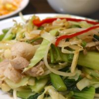 燕郷房 肉野菜炒め