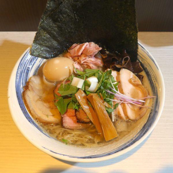 あぐー豚背脂肉煮干し中華蕎麦スペシャル(1,000円)
