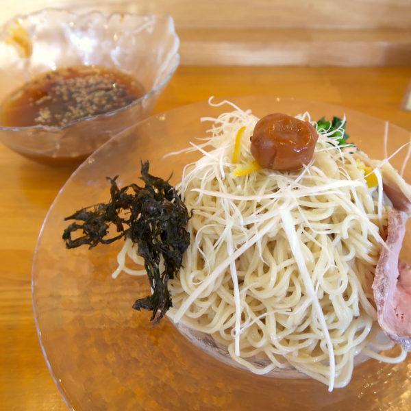 貝だし蛤の冷やしつけ麺・大盛(1,000円)
