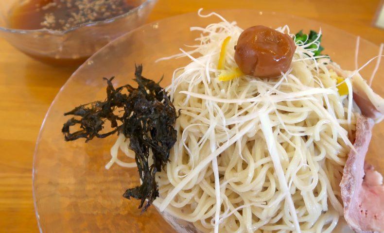 アシタミライ 貝だし蛤の冷やしつけ麺