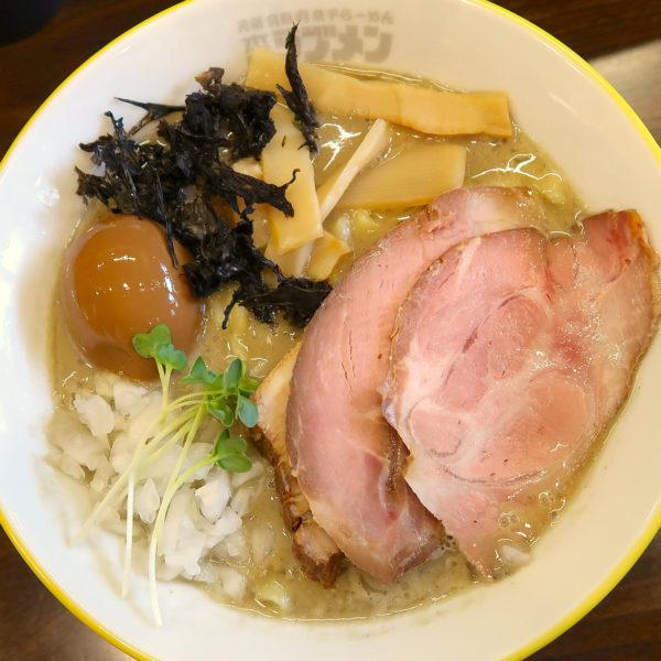特濃煮干しラーメン・スペシャル(1,000円)