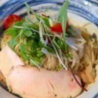 前島「麺や堂幻」 夏冷やし麺