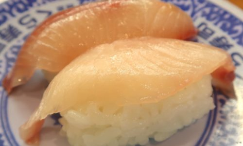 くら寿司の健康黒酢のシャリ