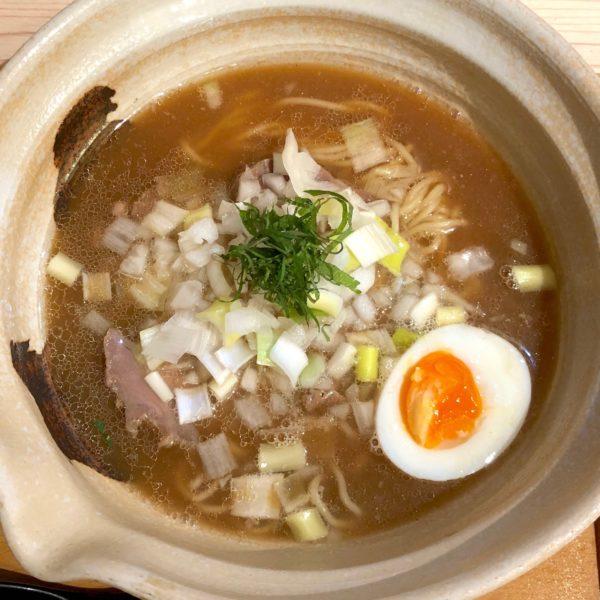 真鯛煮干出汁絞りSoBa(850円)