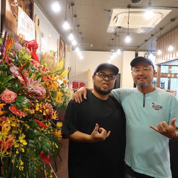 ラブメンの磯部さんと野崎さん