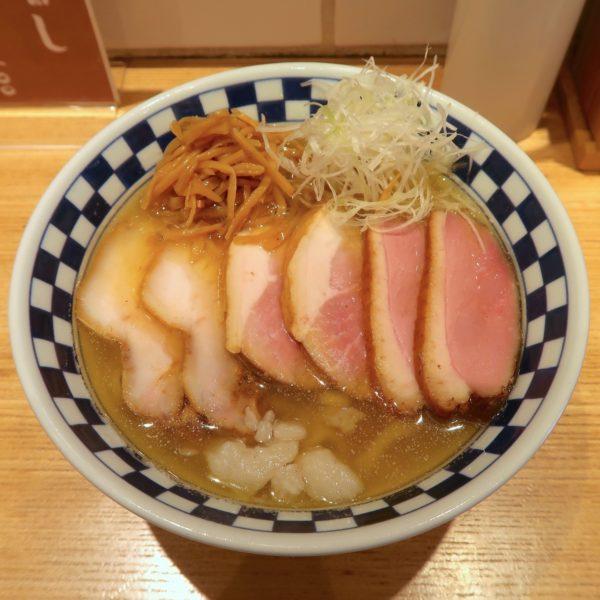 名物肉そば・大(1,050円)