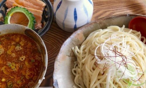 天久の麺処「てぃあんだー」で新メニュー・海老つけ麺