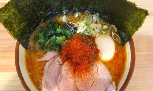 武蔵家 沖縄本店 麻辣豚骨拉麺