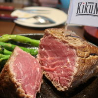 古島 Kikunikuでヒレステーキ